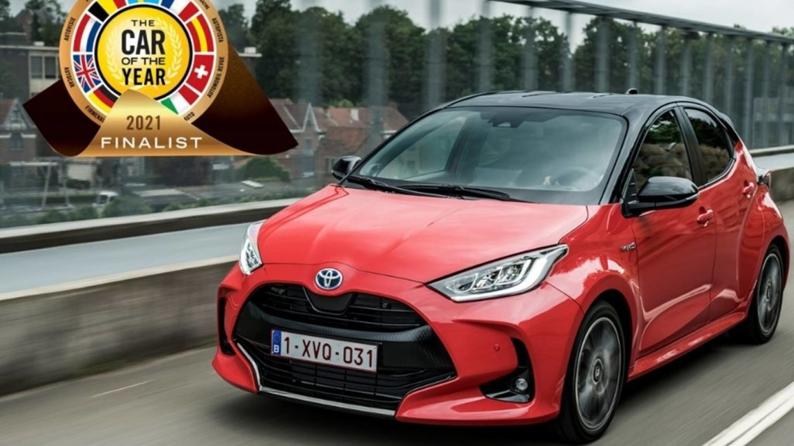 Toyota Yaris, Coche del año 2021