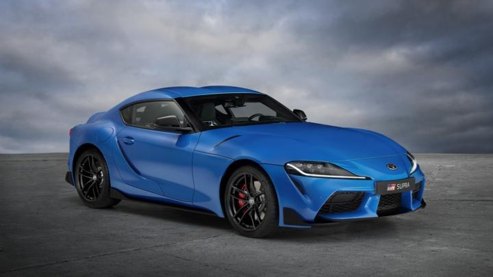 Los deportivos mandan por delante de los SUV: Toyota GR Supra Jarama Racetrack Edition, homenaje al trazado madrileño, y Maserati MC20 'sobre hielo'
