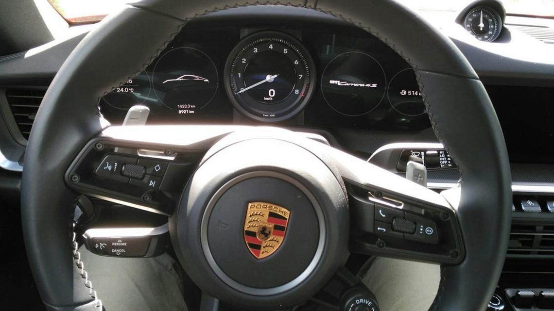 La experiencia de cumplir un sueño, de conducir un Porsche 911